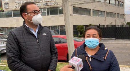 Interpone diputada María de Jesús Galicia, recurso de apelación por fallo de TEEM