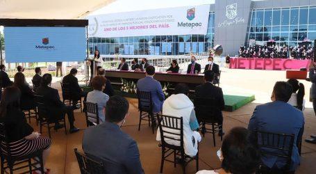 Metepec, líder en la entidad y entre los primeros del país: Gabriela Gamboa