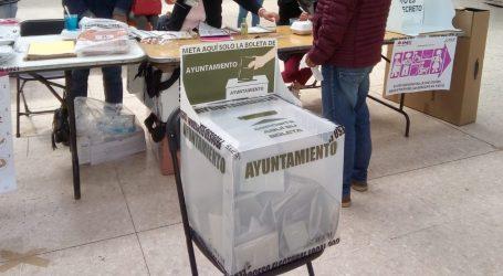 TRABAJAN YA EN LA ELECCIÓN EXTRAORDINARIA DE NEXTLALPAN