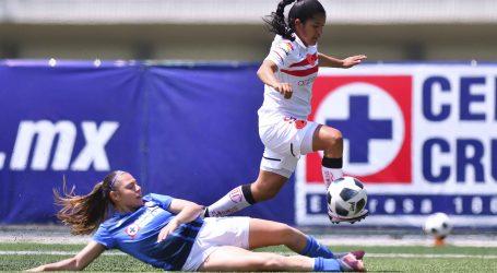 Nueva derrota de Diablas 2-1 ante Cruz Azul