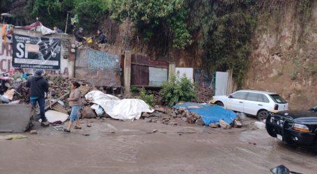 Deslave en un Cerro en Ecatepec