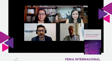 """PRESENTA IEEM EL LIBRO """"LA INFLUENCIA SOCIO DIGITAL. INTERNET Y ELECCIONES"""" EN LA FILEM"""