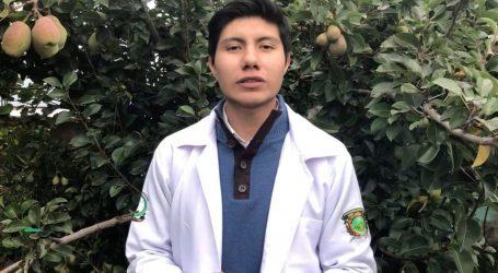 Eiren Peralta, estudiante de la UAEM Chimalhuacán, participa en proyecto para identificar enfermedades de la piel