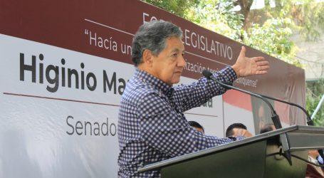 AHORA, HIGINIO PROPONE REDUCIR EL NÚMERO DE DIPUTADOS LOCALES