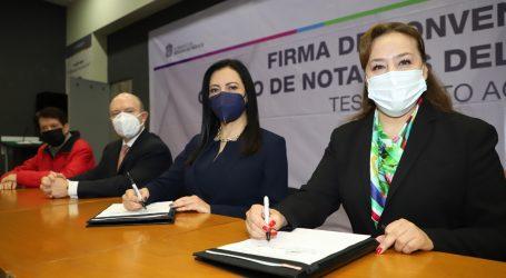 BUSCAN GEM Y NOTARIOS DAR CERTEZA JURÍDICA A PROPIEDA SOCIAL CON TESTAMENTO AGRARIO