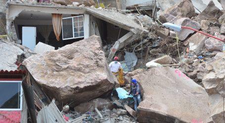 CONTINÚAN LABORES DE BÚSQUEDA EN ZONA COLAPSADA DEL CERRO DEL CHIQUIHUITE