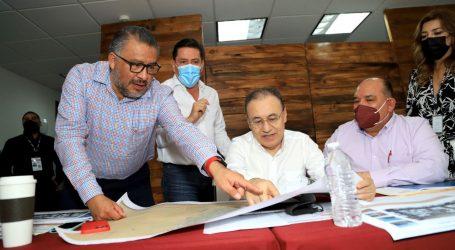 HORACIO DUARTE EN ADUANAS DE SONORA PARA PROYECTOS CON EL GOBERNADOR DURAZO Y EU