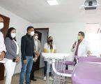 Entrega Manuel Uribe consultorios odontológicos en Tejupilco y Zumpango