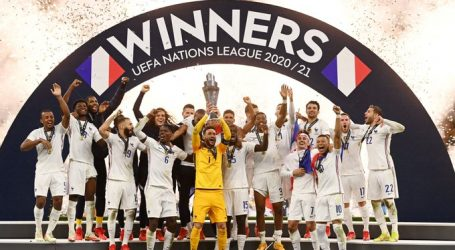 Francia obtuvo la Nations League