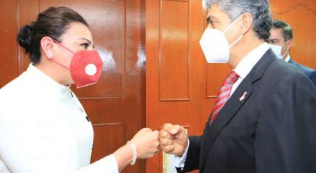 +Ernesto Nemer hoy en la Cámara, ayer con la nueva presidenta del TEEM; Consejo de Seguridad de ONU y Lozoya, vistos por sexo impudor y partidos