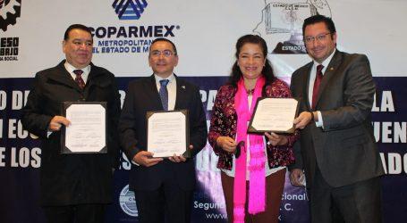 SUSCRIBEN CONVENIO PARA FOMENTAR LA RECUPERACIÓN ECONÓMICA Y SOCIAL DE LOS MEXIQUENSES