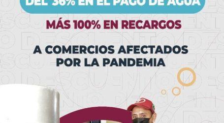 EN APOYO AL COMERCIO, METEPEC OFRECE DESCUENTOS DEL 100% EN RECARGOS POR DERECHOS DE AGUA